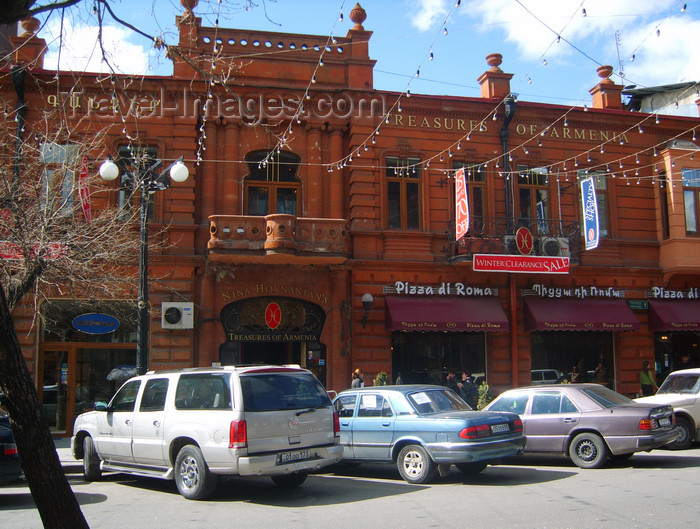 armenia114: Armenia - Yerevan: house of XIX century writer Khachatur Abovian - Abovian Street - photo by S.Hovakimyan - (c) Travel-Images.com - Stock Photography agency - Image Bank