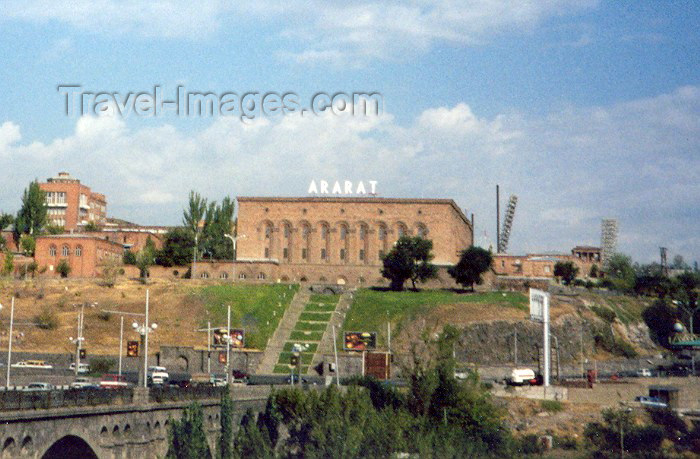 armenia12: Armenia - Yerevan: Ararat brandy factory - owned by Pernod Ricard - Admiral Isakov avenue (photo by M.Torres) - (c) Travel-Images.com - Stock Photography agency - Image Bank