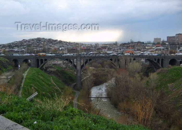 armenia121: Armenia - Yerevan: Victory Bridge above the Hrazdan river - photo by S.Hovakimyan - (c) Travel-Images.com - Stock Photography agency - Image Bank