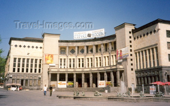armenia16: Armenia -  Yerevan: Moscow cinema (photo by M.Torres) - (c) Travel-Images.com - Stock Photography agency - Image Bank