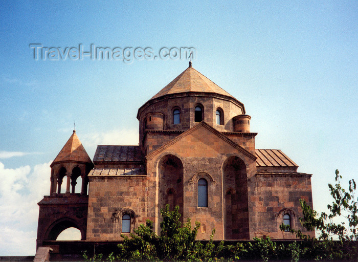 armenia23: Armenia - Echmiadzin / Vagarshapat: temple of St Hripsme - VII century - UNESCO world heritage site - photo by M.Torres - (c) Travel-Images.com - Stock Photography agency - Image Bank