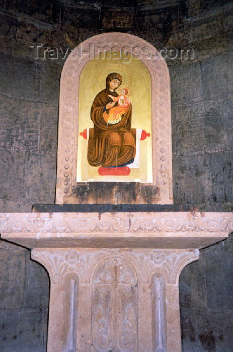 armenia33: Armenia - Khor Virap, Ararat province: the Madonna at the monastery - photo by M.Torres - (c) Travel-Images.com - Stock Photography agency - Image Bank