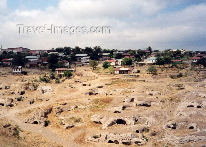 armenia39: Armenia - Karashen, Siunik province: Troglodyte homes - photo by M.Torres - (c) Travel-Images.com - Stock Photography agency - Image Bank