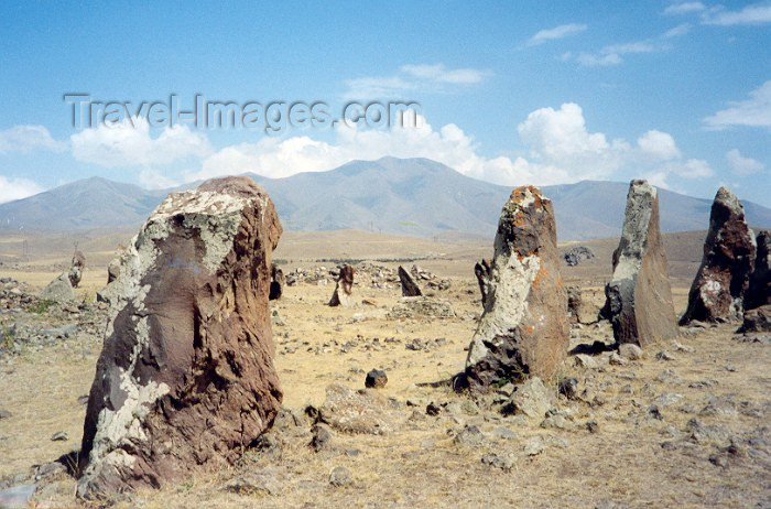 armenia41: Armenia - Karahundje, Syunik province: Neolithic observatory - the Armenian Stonehenge - photo by M.Torres - (c) Travel-Images.com - Stock Photography agency - Image Bank