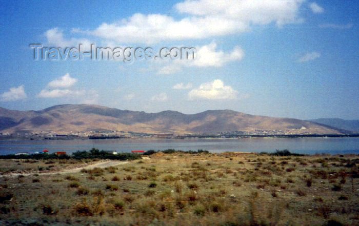 armenia57: Armenia - Sevan, Gegharkunik province: across the water, from Norashen - Lake Sevan - photo by M.Torres - (c) Travel-Images.com - Stock Photography agency - Image Bank
