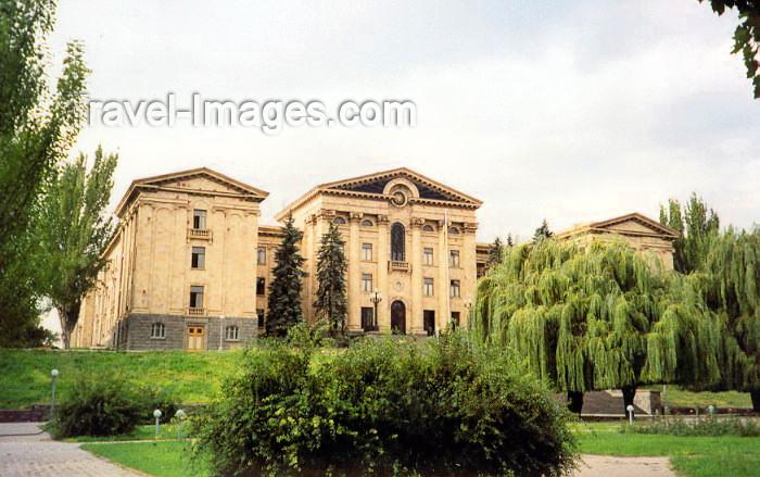 armenia66: Armenia -  Yerevan: the Armenian Parliament - National Assembly of RA - photo by M.Torres - (c) Travel-Images.com - Stock Photography agency - Image Bank
