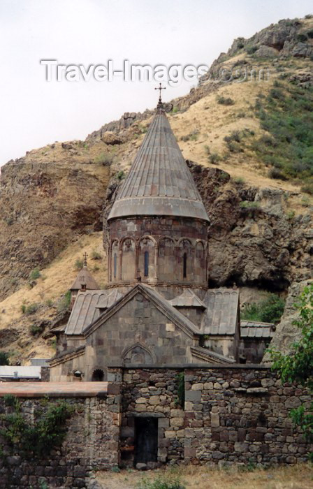 armenia69: Armenia - Geghardavank / Geghard (Kotayk province) : the monastery of the spear, founded in the 4th century by Gregory the Illuminator - UNESCO world heritage - photo by M.Torres - (c) Travel-Images.com - Stock Photography agency - Image Bank