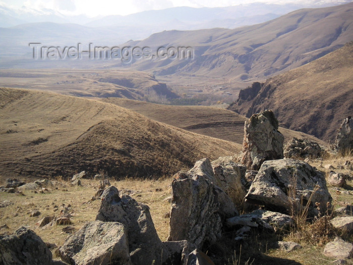 armenia74: Armenia - near Sisian - southern Armenia: standing basalt stones of Zorats Karer - photo by A.Kilroy - (c) Travel-Images.com - Stock Photography agency - Image Bank