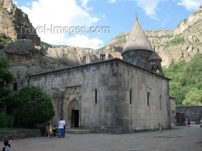 armenia86: Armenia - Geghardavank / Geghard, Kotayk province: monastery of the spear - Church of the Virgin - Katoghike - UNESCO world heritage - photo by A.Ishkhanyan - (c) Travel-Images.com - Stock Photography agency - Image Bank