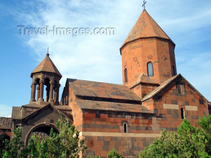 armenia89: Armenia - Khor Virap, Ararat province: the monastery - Astvatsatsin Church - photo by A.Ishkhanyan - (c) Travel-Images.com - Stock Photography agency - Image Bank