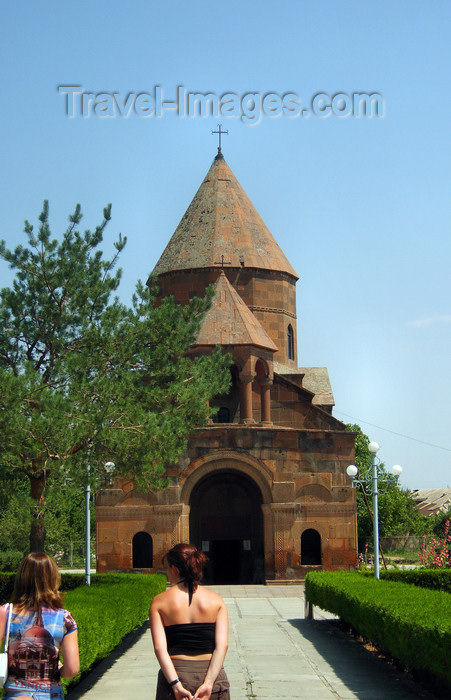 armenia93: Armenia - Echmiatzin, Armavir province: Shoghakat church - temple of the martyr Mariane - photo by S.Hovakimyan - (c) Travel-Images.com - Stock Photography agency - Image Bank