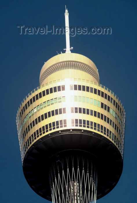 australia122: Australia - Sydney (NSW): Centrepoint Tower - detail - top (photo by  Picture Tasmania/Steve Lovegrove) - (c) Travel-Images.com - Stock Photography agency - Image Bank