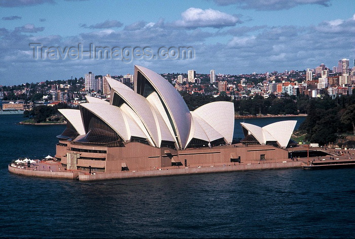 australia124: Australia - Sydney (NSW): the Opera House - from the Harbour bridge (photo by  Picture Tasmania/Steve Lovegrove) - (c) Travel-Images.com - Stock Photography agency - Image Bank