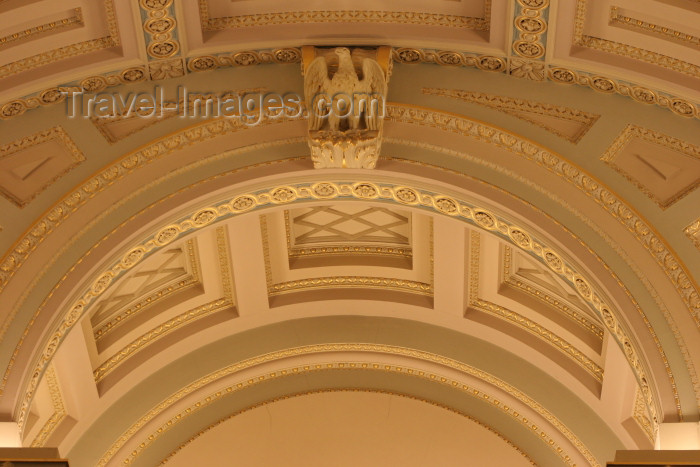 australia552: Australia - Melbourne (Victoria): decorations in the Legislative Assembly, Parliament of Victoria - ceiling - photo by R.Zafar - (c) Travel-Images.com - Stock Photography agency - Image Bank