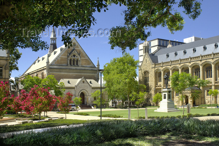 australia652: Australia - Adelaide, South Australia: colonial buildings, North Terrace - photo by G.Scheer - (c) Travel-Images.com - Stock Photography agency - Image Bank