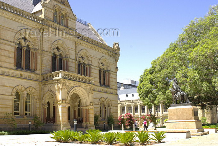 australia670: Australia - Adelaide, South Australia: University Building, North Tce. - photo by G.Scheer - (c) Travel-Images.com - Stock Photography agency - Image Bank
