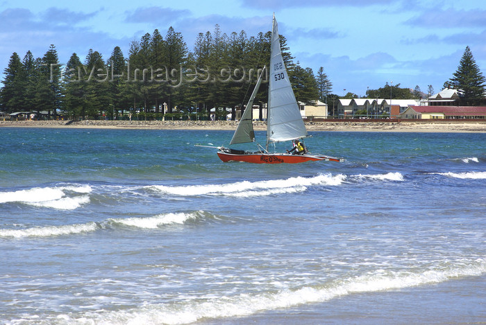 australia674: Australia - Victor Harbor, South Australia: Yachting - photo by G.Scheer - (c) Travel-Images.com - Stock Photography agency - Image Bank