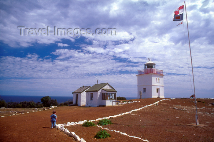 australia677: Australia - Kangaroo Is., South Australia: Cape Borda Lighthouse - photo by G.Scheer - (c) Travel-Images.com - Stock Photography agency - Image Bank