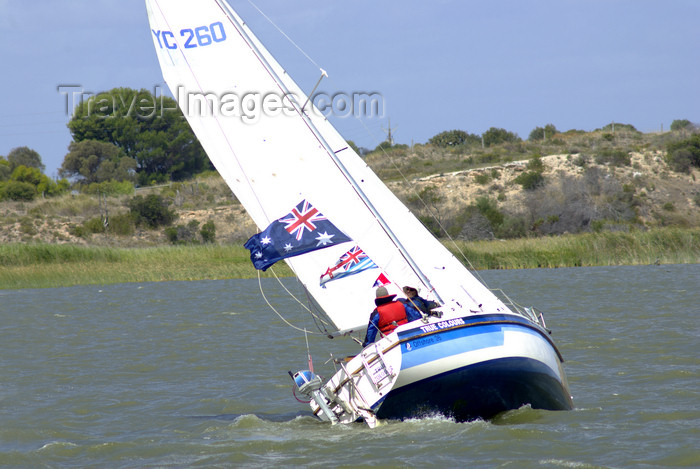 australia706: Australia - Milang - Goolwa Yacht Race, South Australia - photo by G.Scheer - (c) Travel-Images.com - Stock Photography agency - Image Bank