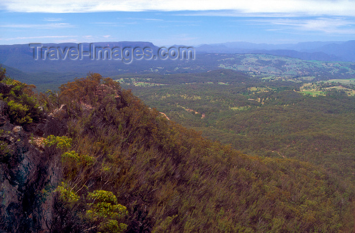 australia742: Blue Mountains, New South Wales, Australia: Hargreaves Lookout, near Blackheath - photo by G.Scheer - (c) Travel-Images.com - Stock Photography agency - Image Bank