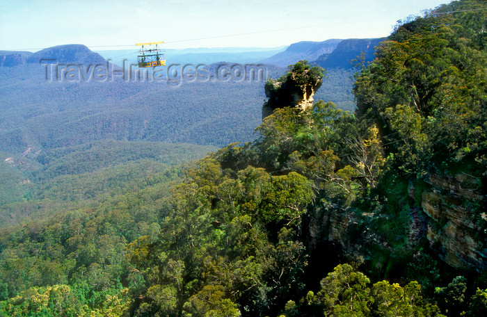 australia748: Blue Mountains, New South Wales, Australia: Skyway - cable car, Blue Mountains National Park - photo by G.Scheer - (c) Travel-Images.com - Stock Photography agency - Image Bank