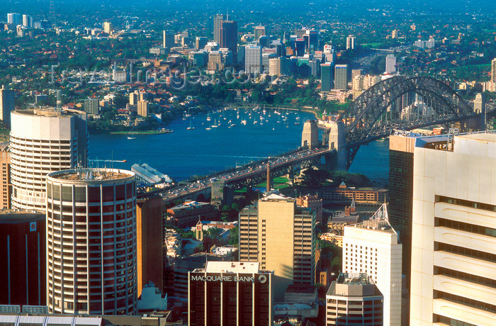 australia749: Sydney, New South Wales, Australia: Sydney from Centre Tower - photo by G.Scheer - (c) Travel-Images.com - Stock Photography agency - Image Bank