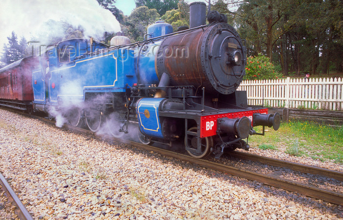 australia756: Lithgow, New South Wales, Australia: Zig Zag Railway Train at Lithgow Station - Blue Mountains - photo by G.Scheer - (c) Travel-Images.com - Stock Photography agency - Image Bank