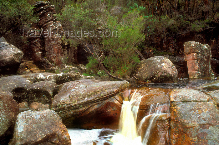 australia770: Grampians National Park, Victoria, Australia: Stony Creek cascade - photo by G.Scheer - (c) Travel-Images.com - Stock Photography agency - Image Bank