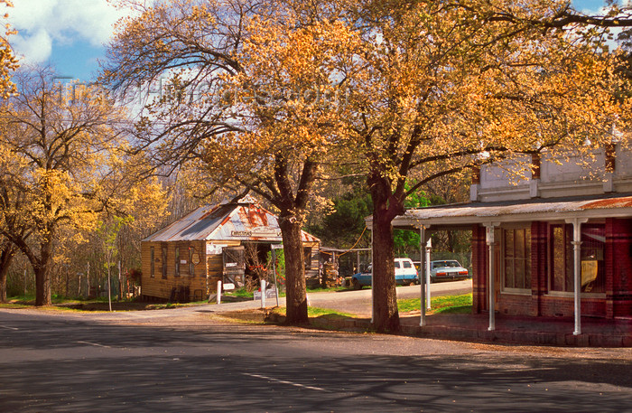 australia778: Maldon, Victoria, Australia: 'Australia's First Notable Town' - 19th century ambiance - Shire of Mount Alexander - photo by G.Scheer - (c) Travel-Images.com - Stock Photography agency - Image Bank