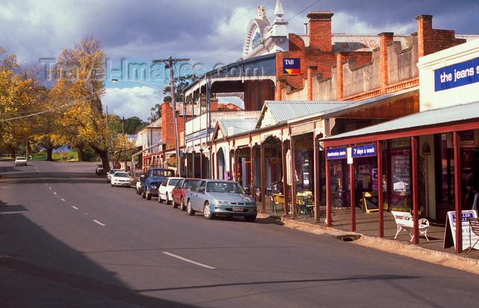 australia779: Maldon, Victoria, Australia: historic streetscape - Bendigo West - Shire of Mount Alexander - photo by G.Scheer - (c) Travel-Images.com - Stock Photography agency - Image Bank