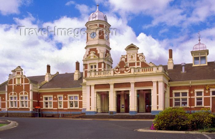 australia780: Maryborough , Victoria, Australia: Maryborough Railway Station - Shire of Central Goldfields - photo by G.Scheer - (c) Travel-Images.com - Stock Photography agency - Image Bank