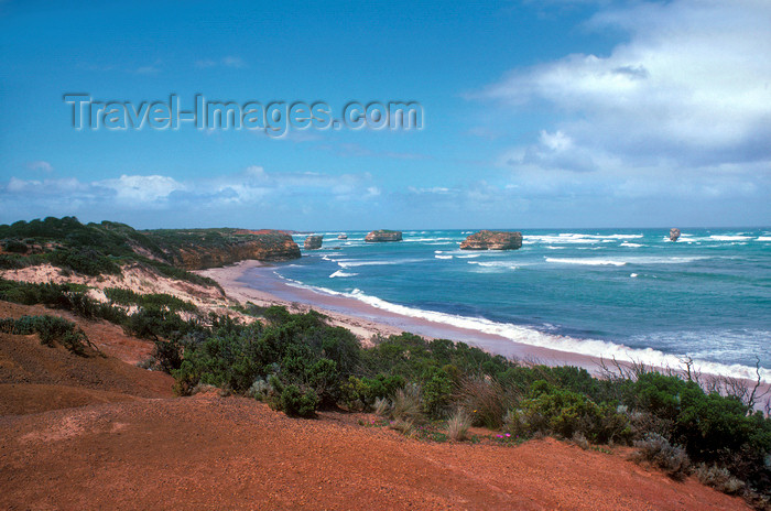 australia793: Great Ocean Road, Victoria, Australia: seascape - Central Coast - photo by G.Scheer - (c) Travel-Images.com - Stock Photography agency - Image Bank