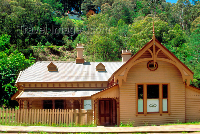 australia805: Walhalla, Victoria, Australia: Walhalla Post Office - old gold-mining town - photo by G.Scheer - (c) Travel-Images.com - Stock Photography agency - Image Bank