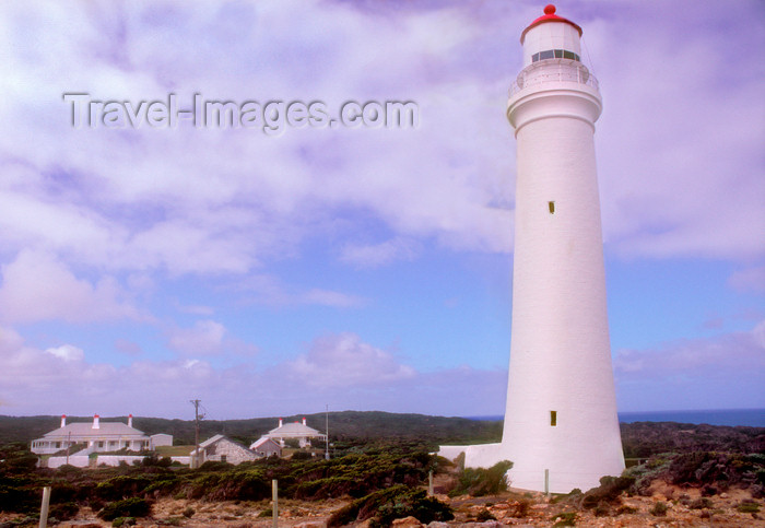 australia818: Great Ocean Road, Portland Bay, Victoria, Australia: Nelson Lighthouse - Shire of Glenelg - photo by G.Scheer - (c) Travel-Images.com - Stock Photography agency - Image Bank