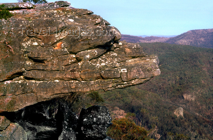 australia819: Grampians National Park, Victoria, Australia: the Balconies - photo by G.Scheer - (c) Travel-Images.com - Stock Photography agency - Image Bank