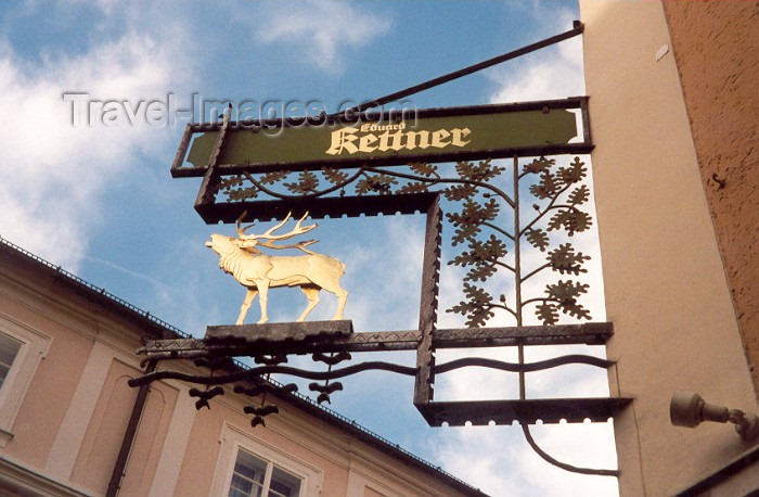 austria18: Austria - Salzburg: the golden moose?  - Eduard Kettner - photo by M.Torres - (c) Travel-Images.com - Stock Photography agency - Image Bank