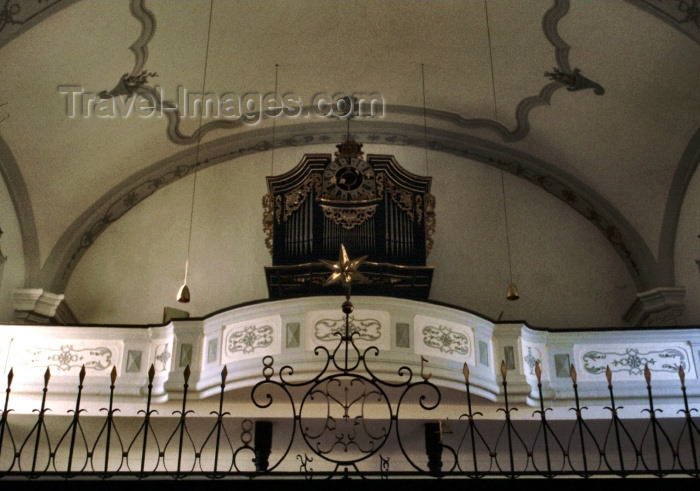 austria36: Austria - Arnsdorf (Salzburg): church organ - photo by F.Rigaud - (c) Travel-Images.com - Stock Photography agency - Image Bank