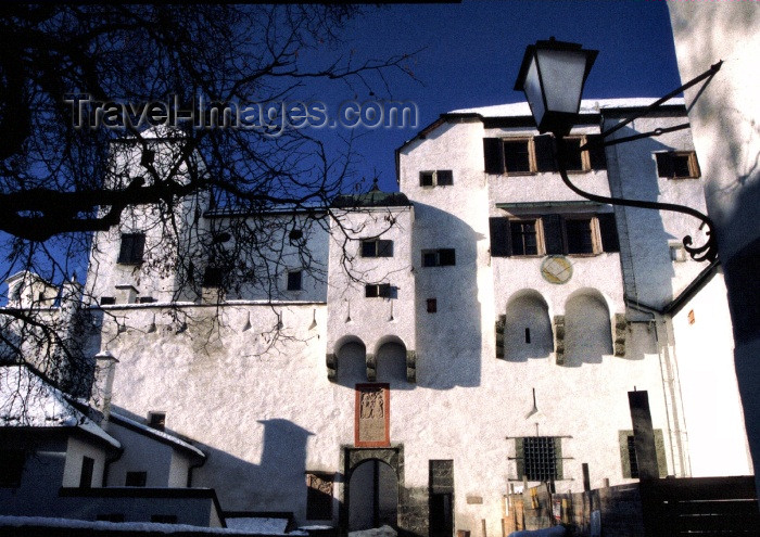 austria42: Austria - Salzburg: Hohensalzburg fortress - court yard - photo by F.Rigaud - (c) Travel-Images.com - Stock Photography agency - Image Bank