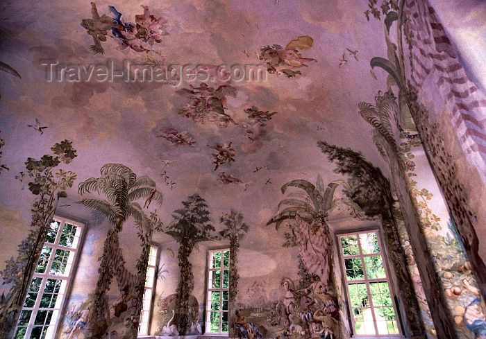 austria58: Austria - Melk (Niederosterreich / Lower Austria state): frescoes (photo by F.Rigaud) - (c) Travel-Images.com - Stock Photography agency - Image Bank