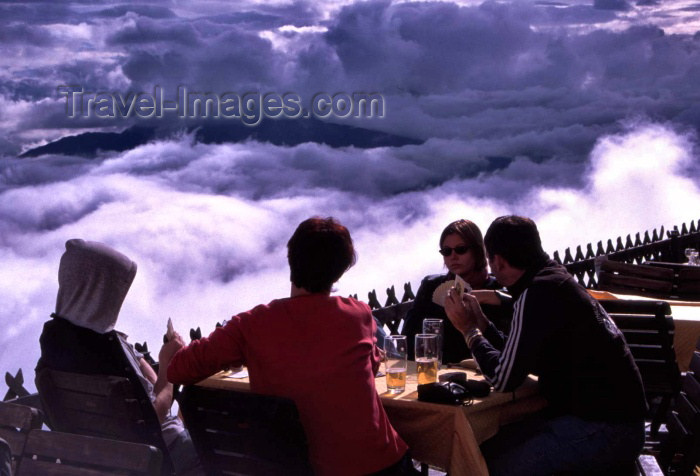 austria62: Austria - Innsbruck (Tirol): relaxing over the clouds (photo by F.Rigaud) - (c) Travel-Images.com - Stock Photography agency - Image Bank