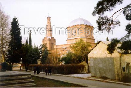 az-ganca13: Azerbaijan - Ganca: Russian Orthodox Church - photo by Elnur Hasan - (c) Travel-Images.com - Stock Photography agency - Image Bank