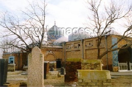 az-ganca17: Ganca: the Imamzade / Imamzadeh mausoleum in the village of Aznixi - photo by Elnur Hasan - (c) Travel-Images.com - Stock Photography agency - Image Bank