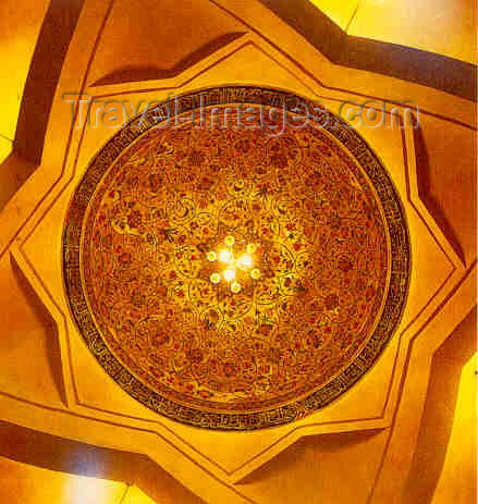 az-shu5: Nagorno Karabakh - Shusha: Panah Khan's library - dome interior (photo (c)  H.Huseinzade) - (c) Travel-Images.com - Stock Photography agency - Image Bank
