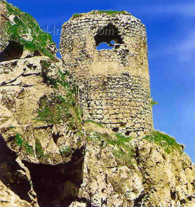 az-shu6: Nagorno Karabakh - Shusha: watch tower at the Gara-boyuk khanim castle (photo (c)  H.Huseinzade) - (c) Travel-Images.com - Stock Photography agency - Image Bank