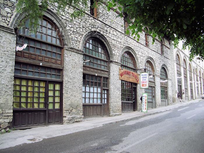 azer104: Azerbaijan - Sheki: old house (photo by G.Frysinger) - (c) Travel-Images.com - Stock Photography agency - Image Bank