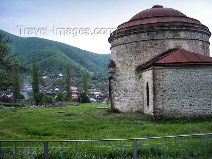 azer105: Sheki / Shaki, Azerbaijan: Albanian Church, now a museum - photo by L.McKay - (c) Travel-Images.com - Stock Photography agency - Image Bank