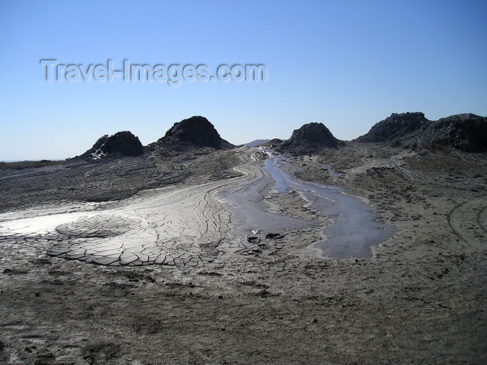 "azer130: Azerbaijan - Gobustan / Qobustan / Kobustan: a ""sierra"" of mud volcanos - photo by Fiona MacLachlan - (c) Travel-Images.com - Stock Photography agency - Image Bank"
