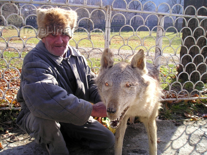 azer137: Sheki, Azerbaijan: the 'wolf man' (photo by F.MacLachlan) - (c) Travel-Images.com - Stock Photography agency - Image Bank