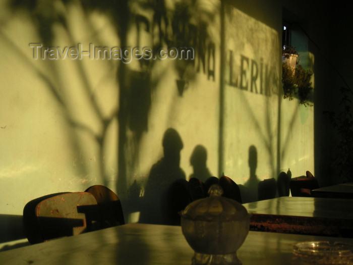 azer140: Azerbaijan - Lerik: morning light in the chaikana (photo by A.Kilroy) - (c) Travel-Images.com - Stock Photography agency - Image Bank