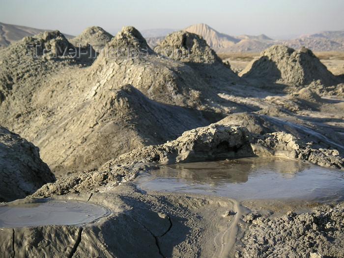 azer149: Azerbaijan - Gobustan / Qobustan / Kobustan - Qobustan Rayonu - Baki Sahari:  mud volcano - mud pool (photo by Austin Kilroy) - (c) Travel-Images.com - Stock Photography agency - Image Bank
